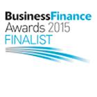 Business finance awards logo