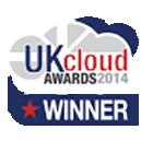 UK cloud awards logo