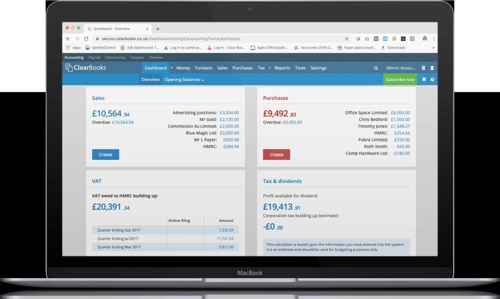 Accounting software bank feeds
