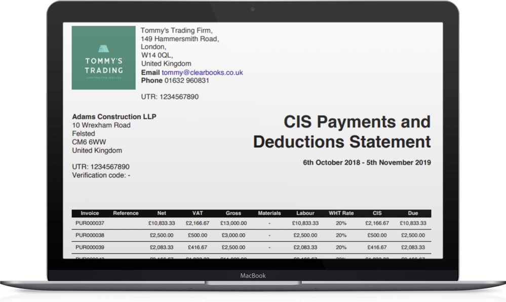 CIS accounting software