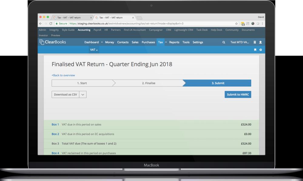 VAT accounting software UK
